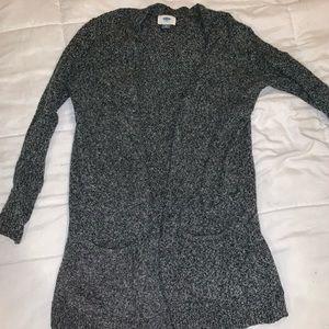 Women's fleece cardigan